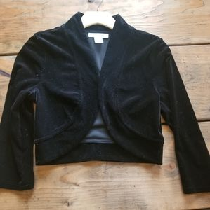 White House Black Market Velvet Jacket